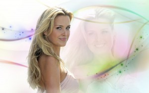 Petra Nemcova abstract wallpaper