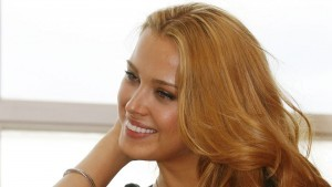 Smiling Petra Nemcova high quality wallpaper