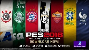 Pro Evolution Soccer 2016 background