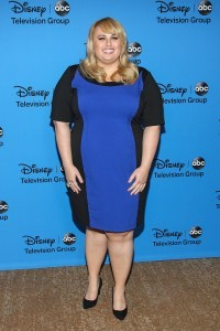 Rebel Wilson blue dress