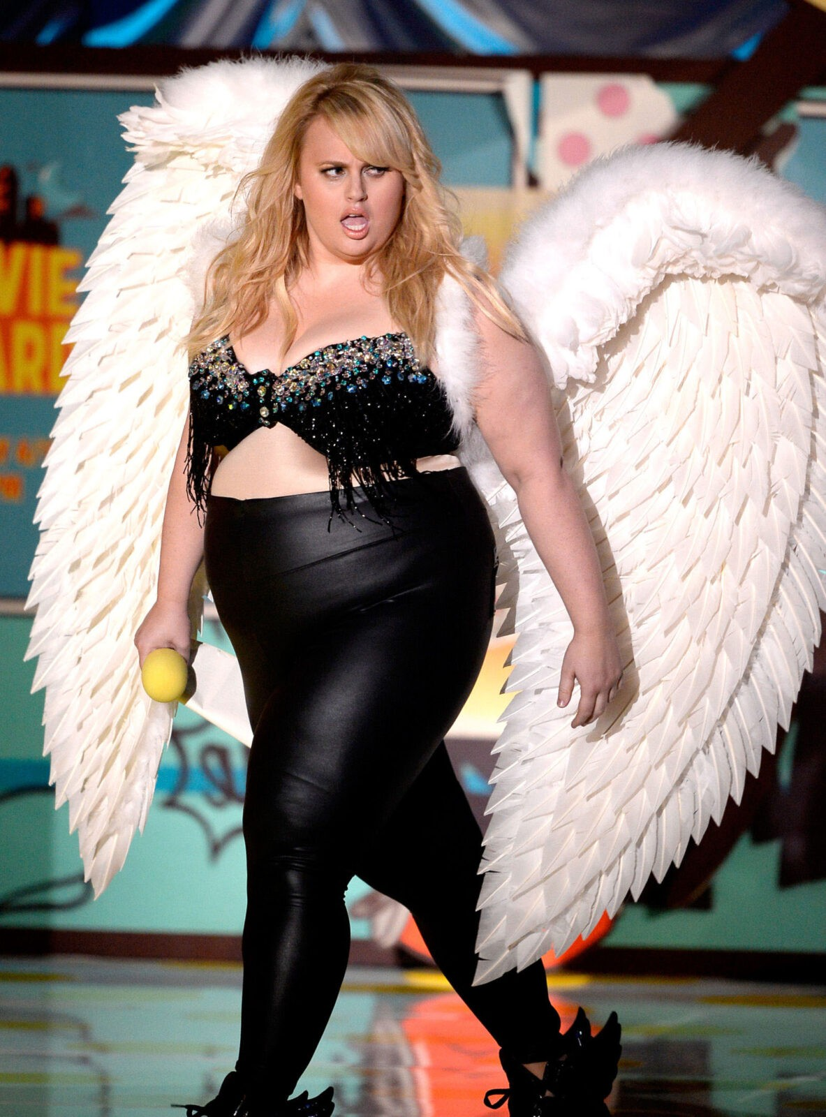 Rebel Wilson victoria secret