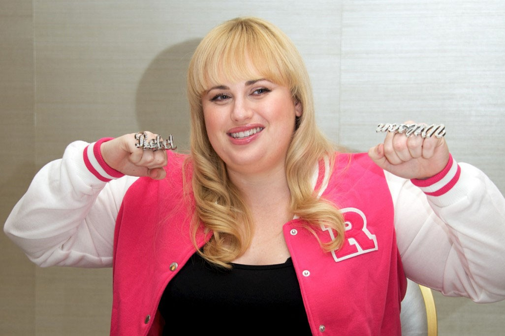 Rebel Wilson punches