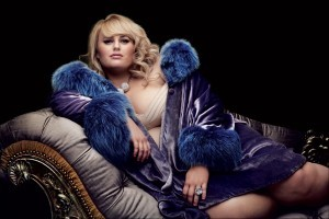 Rebel Wilson Black background