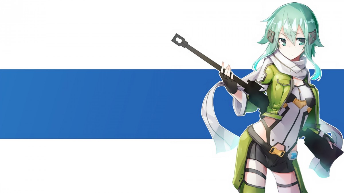 Widescreen wallpaper Sinon