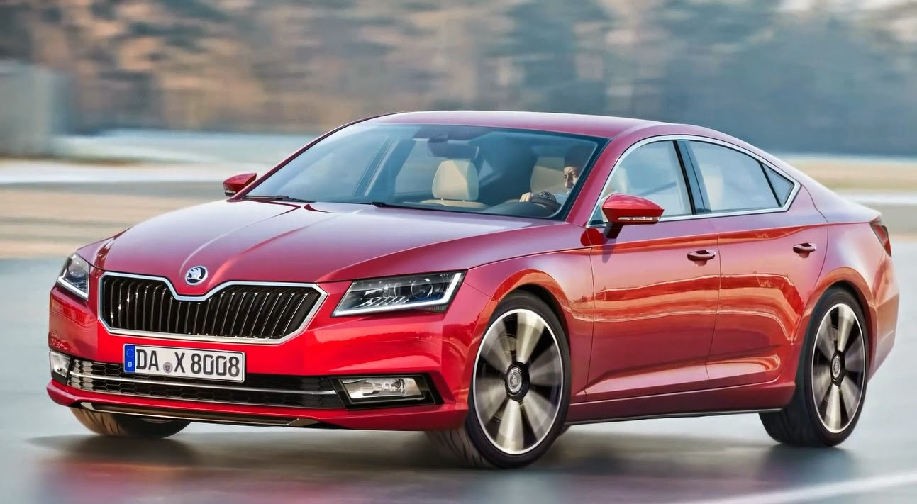 20+ Skoda Superb 2015-2016 HD wallpapers Download
