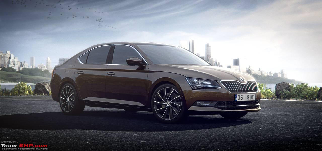 2015 Buick Lacrosse >> 20+ Skoda Superb 2015-2016 HD wallpapers Download