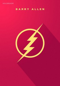 Barry Allen the Flash logotype