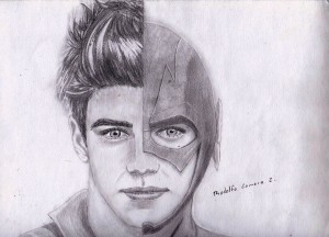 Barry Allen the Flash art