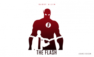 Barry Allen the Flash white