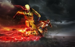 Barry Allen the Flash tornado
