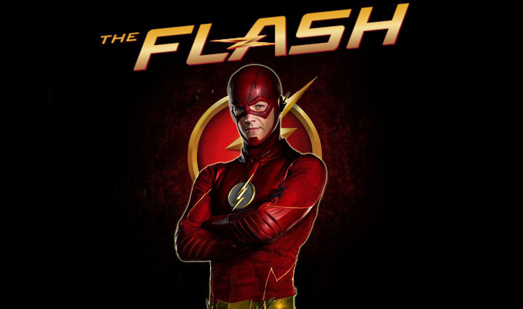 Barry Allen the Flash logotype for computer