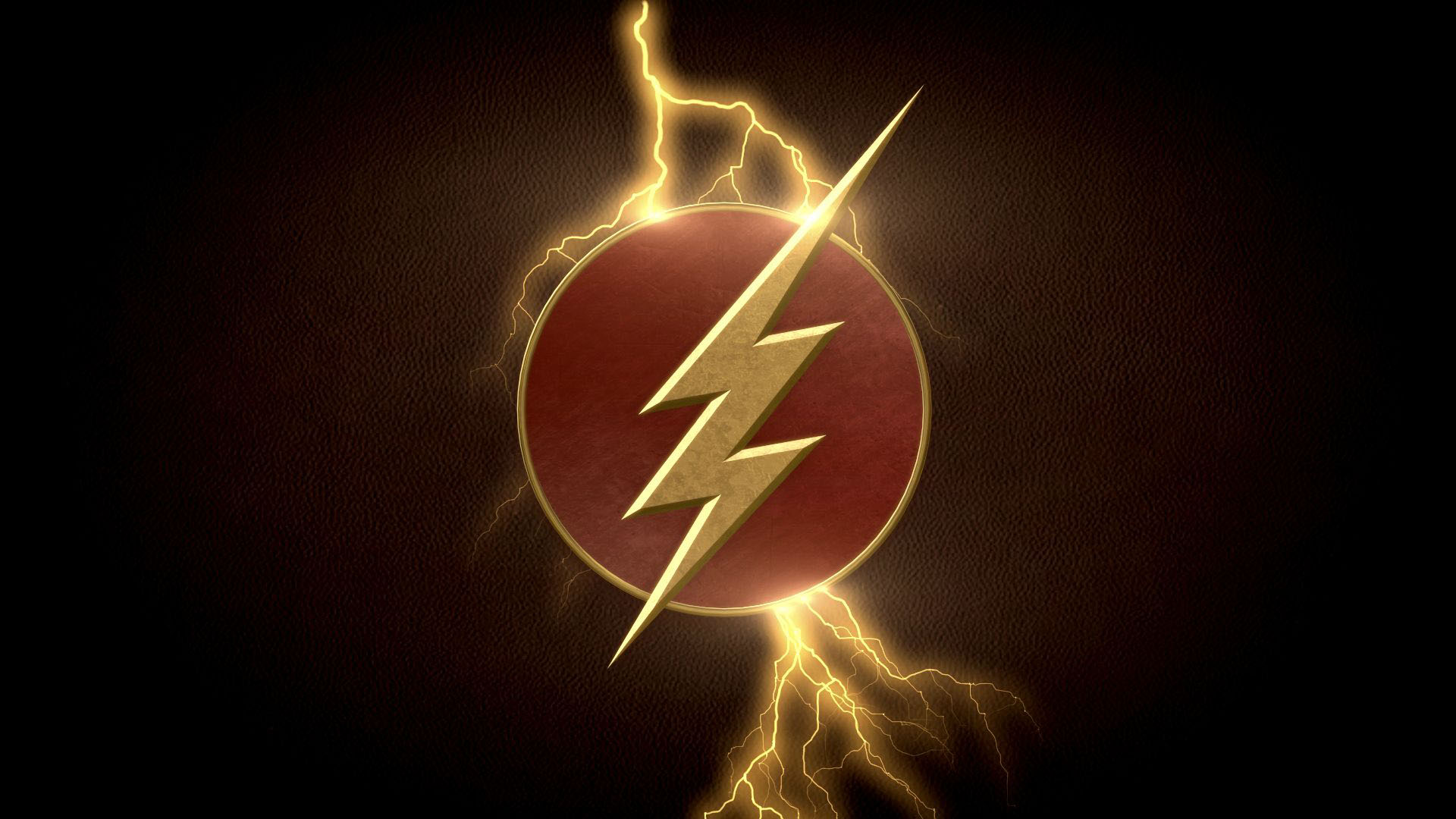 The Flash logo black