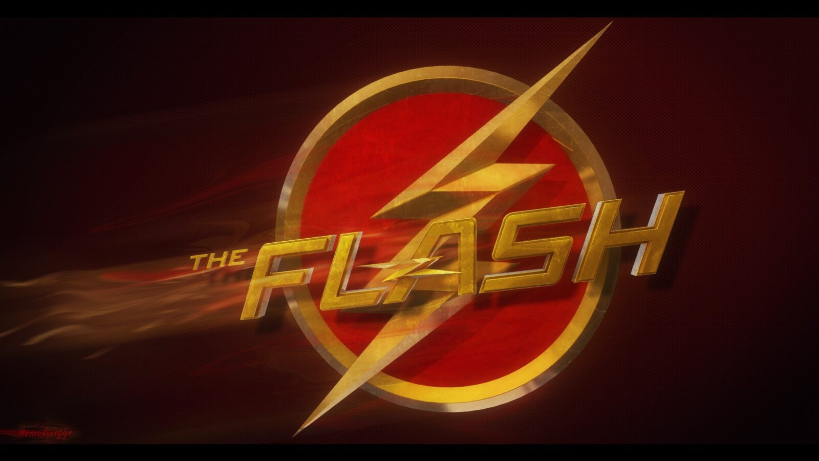 9 the flash logo hd wallpapers free download