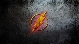 The Flash logo HD wallpapers