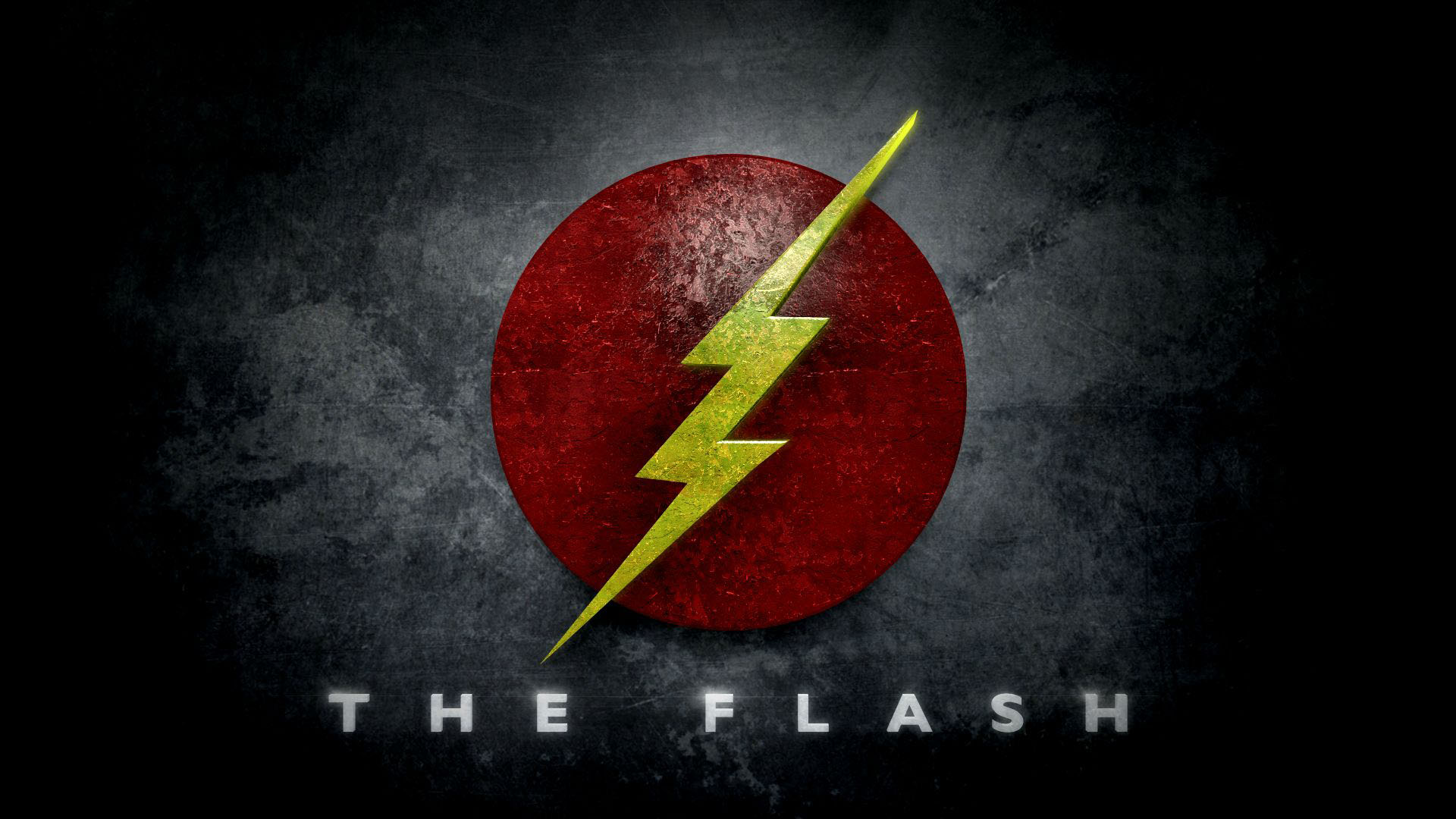 9 the flash logo hd wallpapers free download for Ecran pc mat