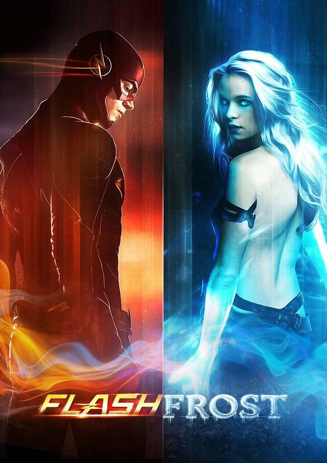 Barry Allen the Flash and girl