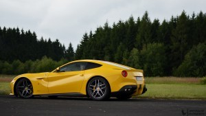 ferrari f12 berlinetta yellow
