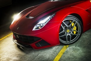 ferrari f12 berlinetta headlight