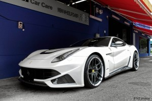 ferrari f12 berlinetta white