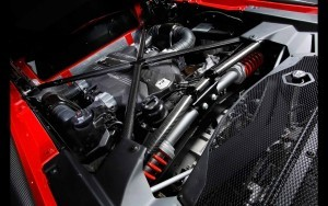 Engine Lamborghini Aventador photo
