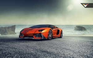 Wallpaper of Lamborghini Aventador for pc