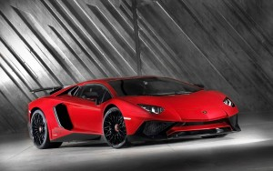 Red Lamborghini Aventador backgrounds