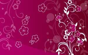Vector image pink abstract background