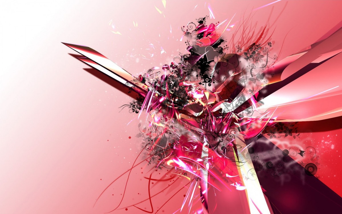 Pink Abstract HD wallpapers Download