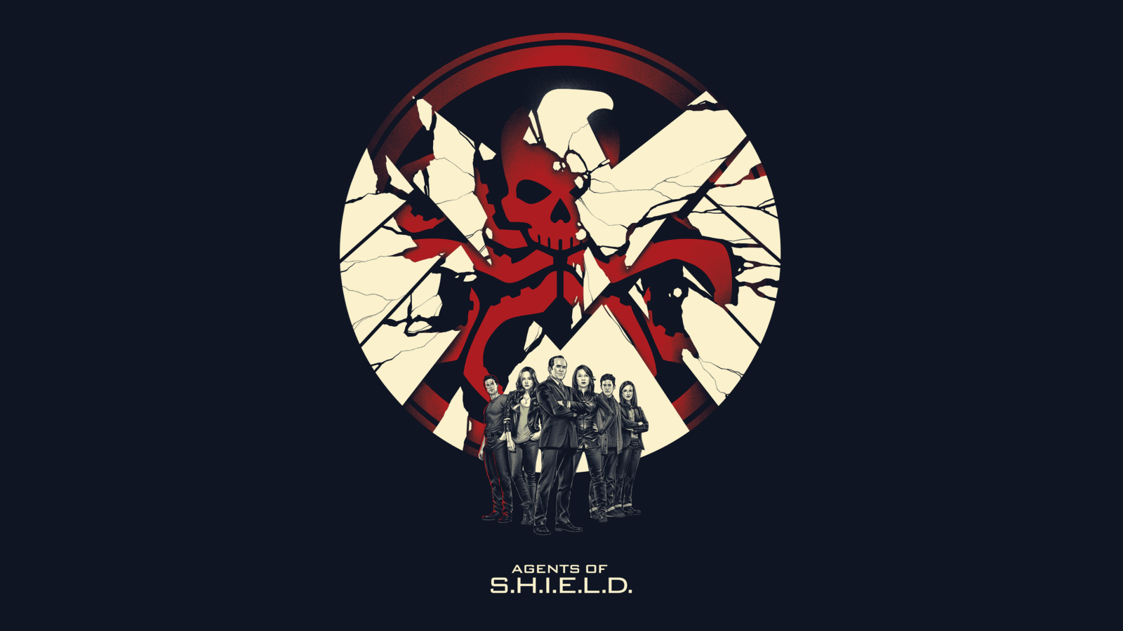 Agents of S.H.I.E.L.D Hydra logotype