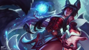 Ahri league of legends skin for PC