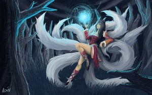 Ahri foxes picture