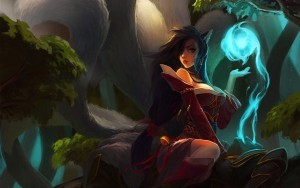 Ahri League Of Legends HD wallpapers free download