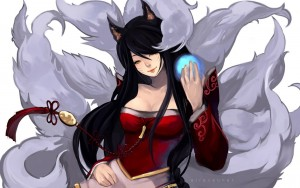 Ahri drawing