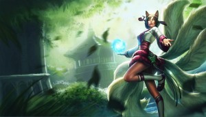 Ahri anime wallpaper