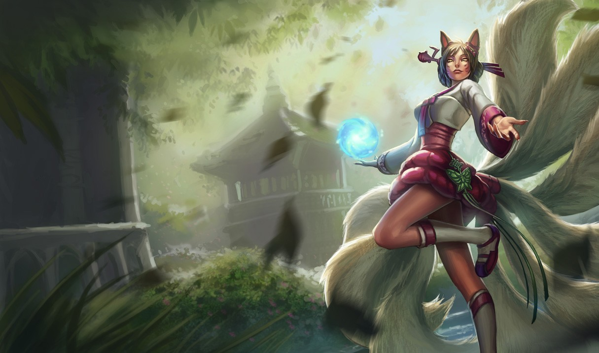 Ahri LOL wallpaper