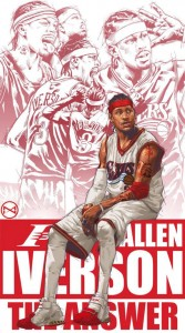 Allen Iverson for mobile phones