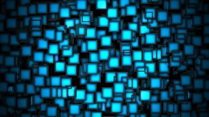 Blue abstract full HD image