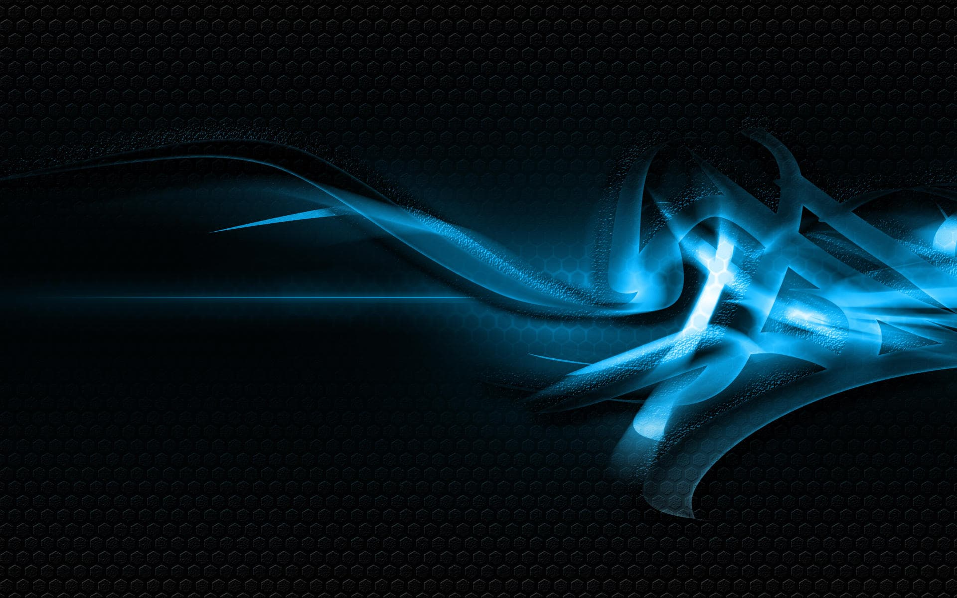 Beautiful Blue abstract wallpaper