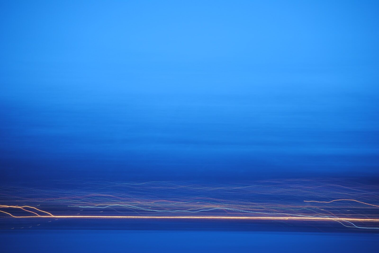 Extraordinary Blue abstract image