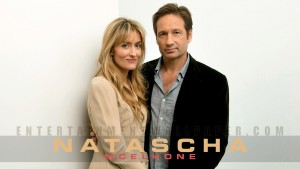 Californication Natascha Mcelhone with David Duchovny computer wallpaper