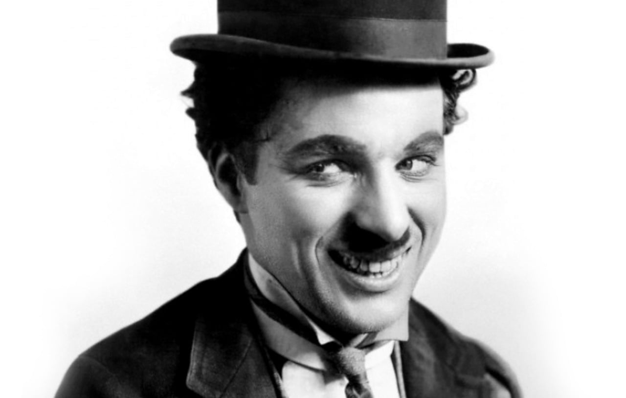 Image of Charles Chaplin smile