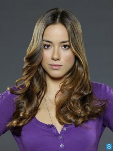 Chloe Bennet hairstyle