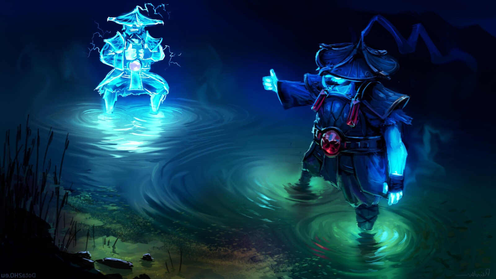 17 Dota 2 Storm Spirit Wallpapers Hd Free Download