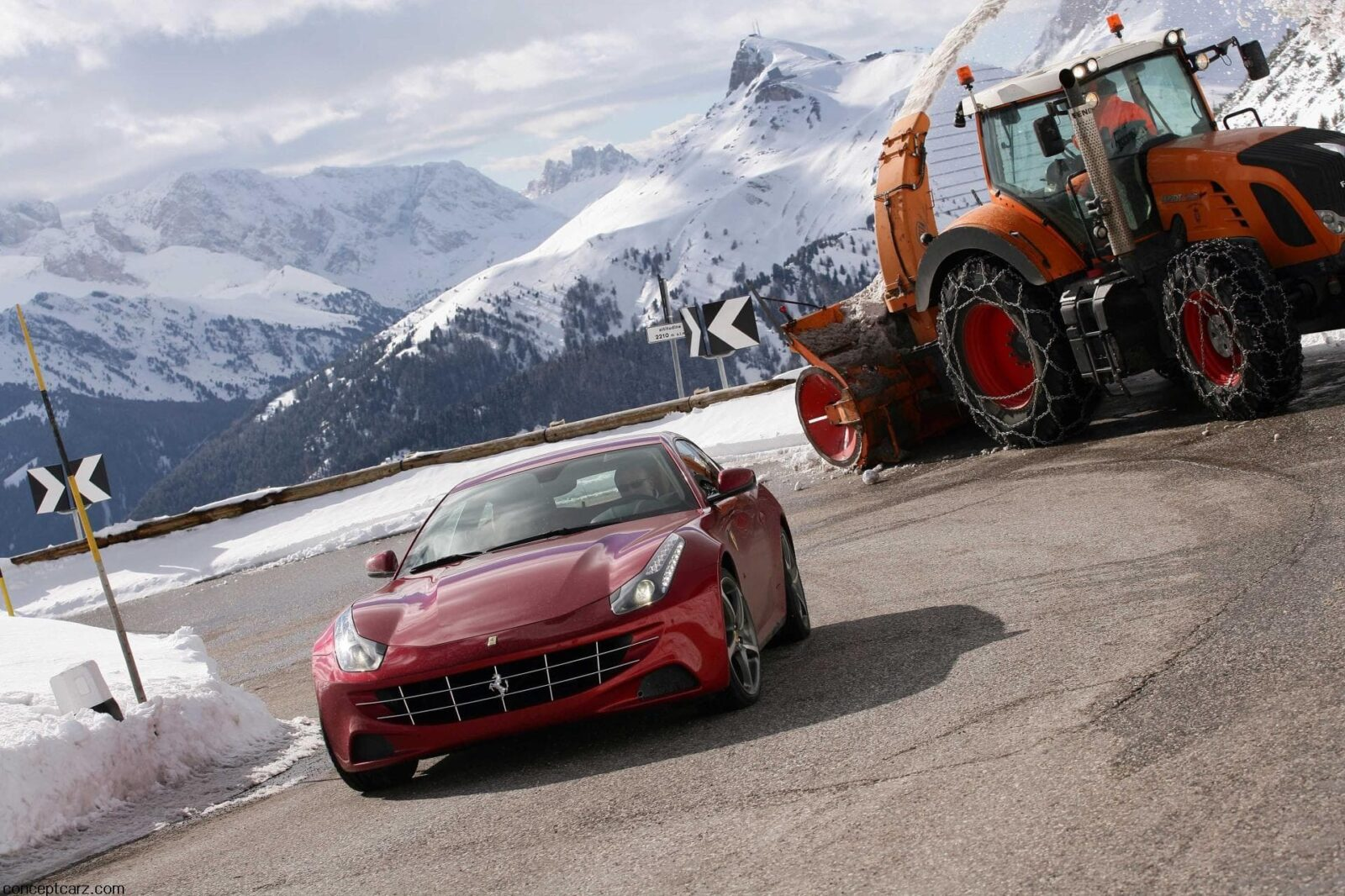 Wallpaper of Ferrari FF 1080p