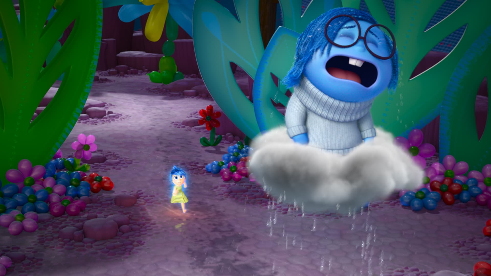 Inside Out Sadness HD wallpapers free download
