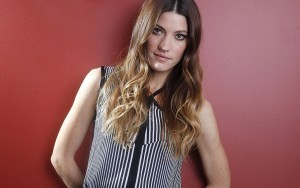 Jennifer Carpenter red background