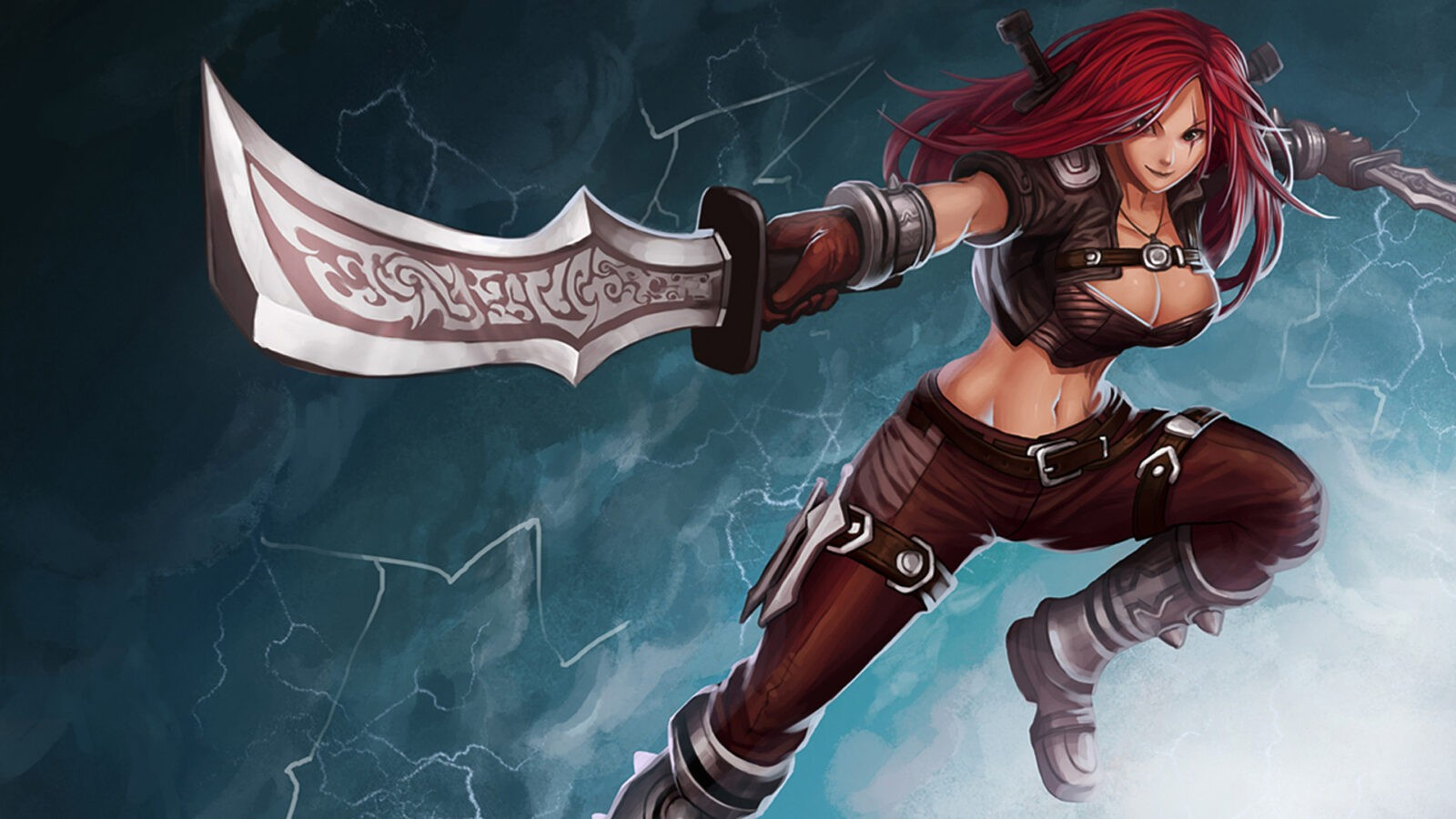 Katarina League of Legends HD wallpapers free Download