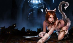 Full HD image of Katarina league of legends Kitty Cats