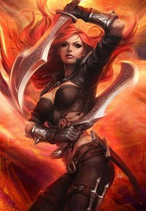 Themes of Katarina league of legends for Android