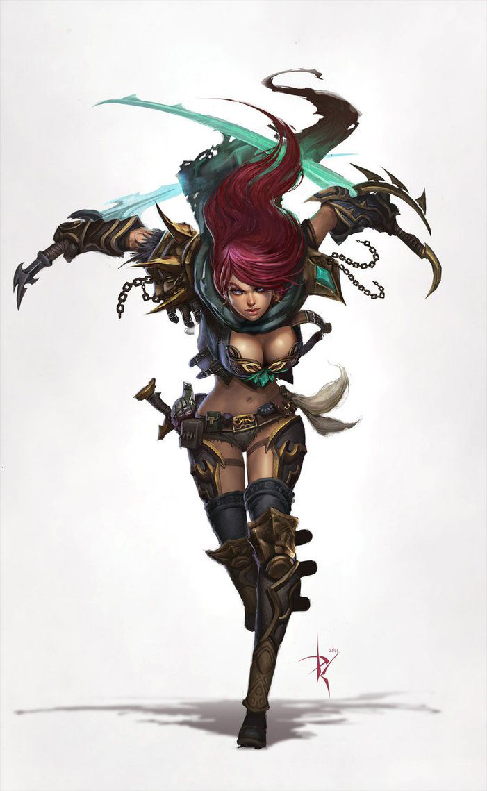 Katarina league of legends image for mobile phones